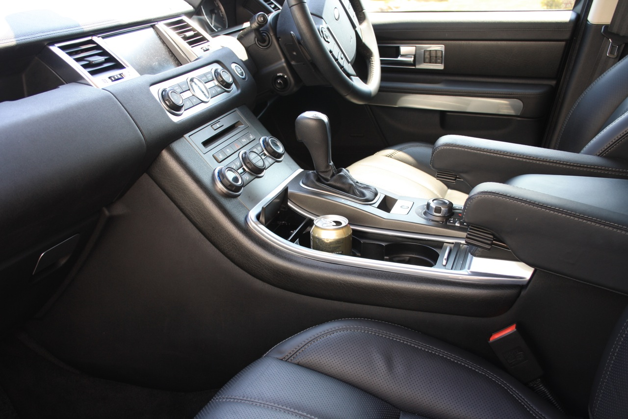 Range rover sport tdv8 wood interior wrapped in leather - Range rover with red leather interior ...