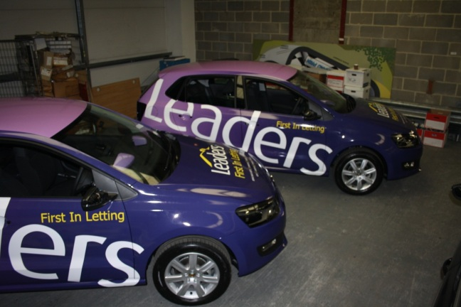leaders vw polo wrap 02 | AMBIENT GRAPHICS