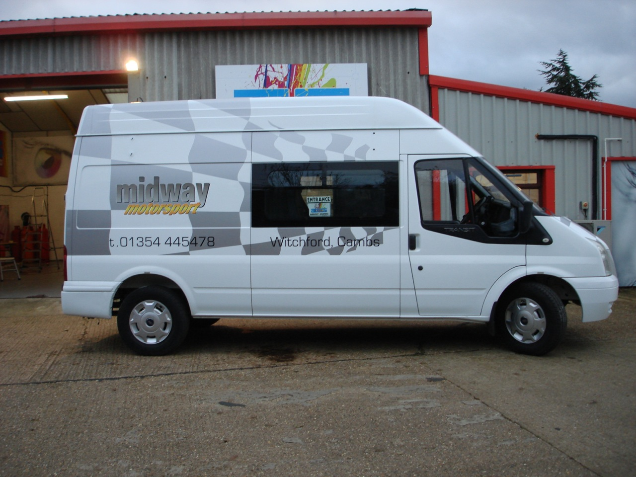Motorsport Van Graphics